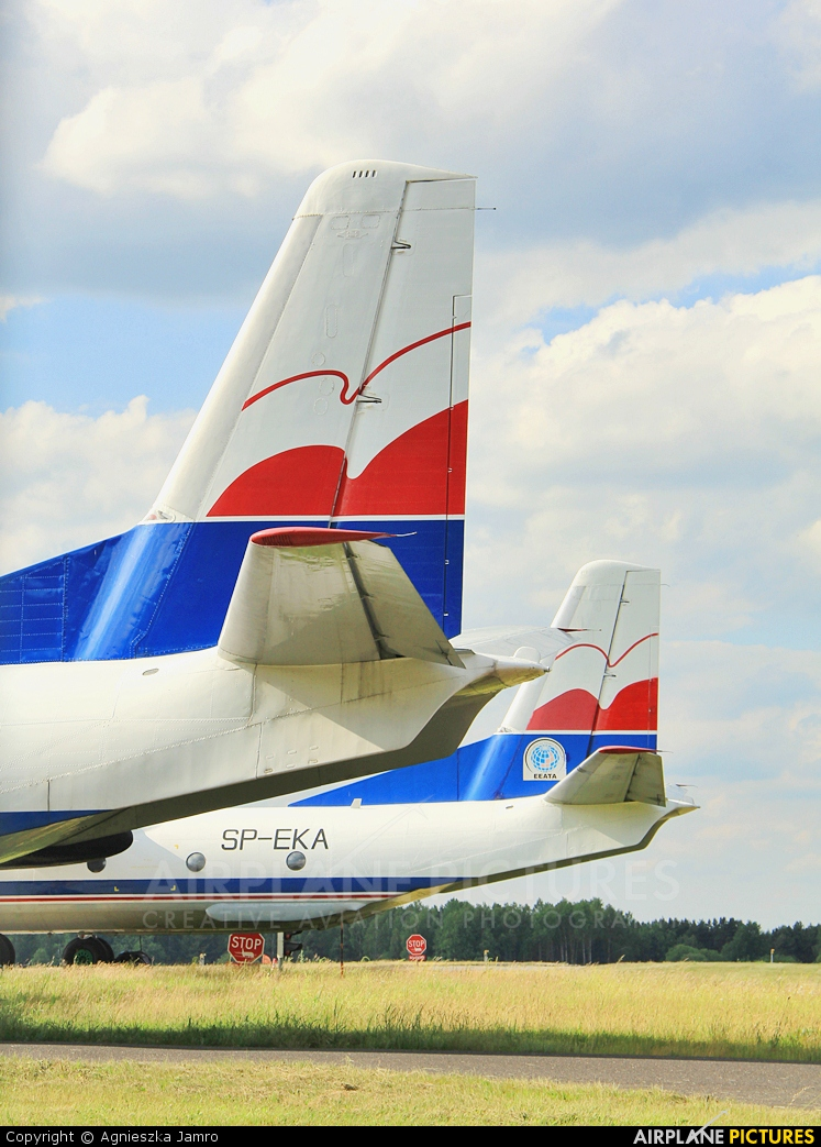 Exin SP-EKA aircraft at Katowice - Pyrzowice