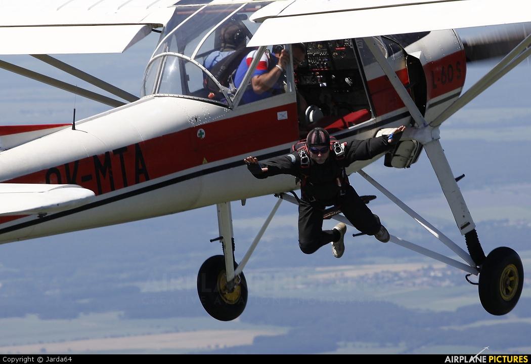 Aeroklub Jindřichův Hradec OK-MTA aircraft at Jindřichův Hradec