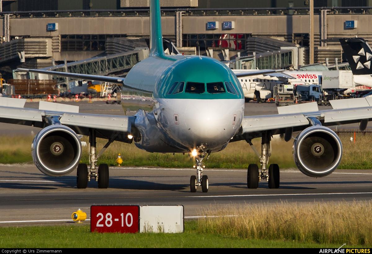 Aer Lingus EI-DVN aircraft at Zurich