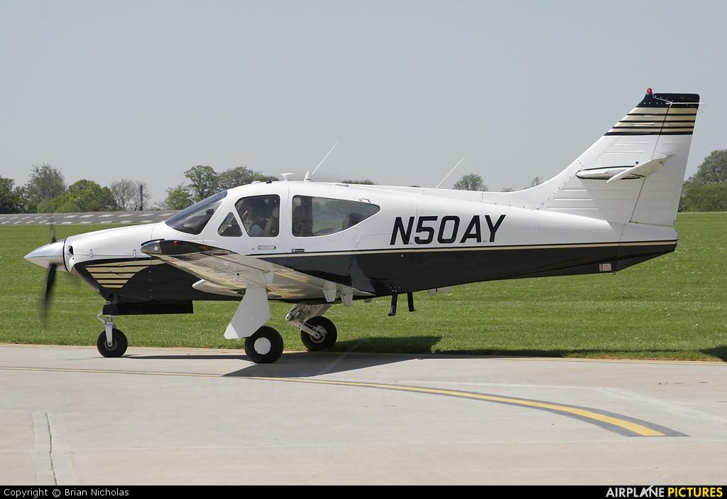 Private N50AY aircraft at Northampton / Sywell