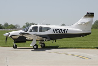 N50AY - Private Rockwell Commander 114
