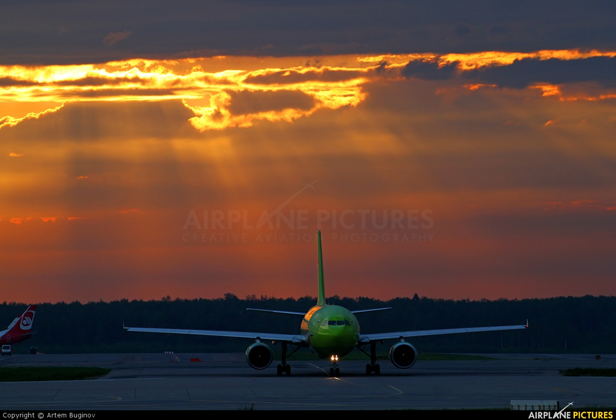 S7 Airlines VP-BTJ aircraft at Moscow - Domodedovo
