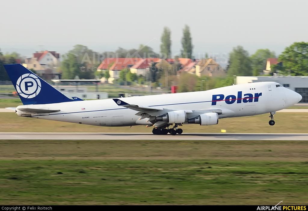 Polar Air Cargo N416MC aircraft at Leipzig - Halle