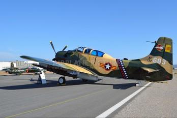 N39147 - Greatest Generation Naval Museum Douglas A-1E Skyraider
