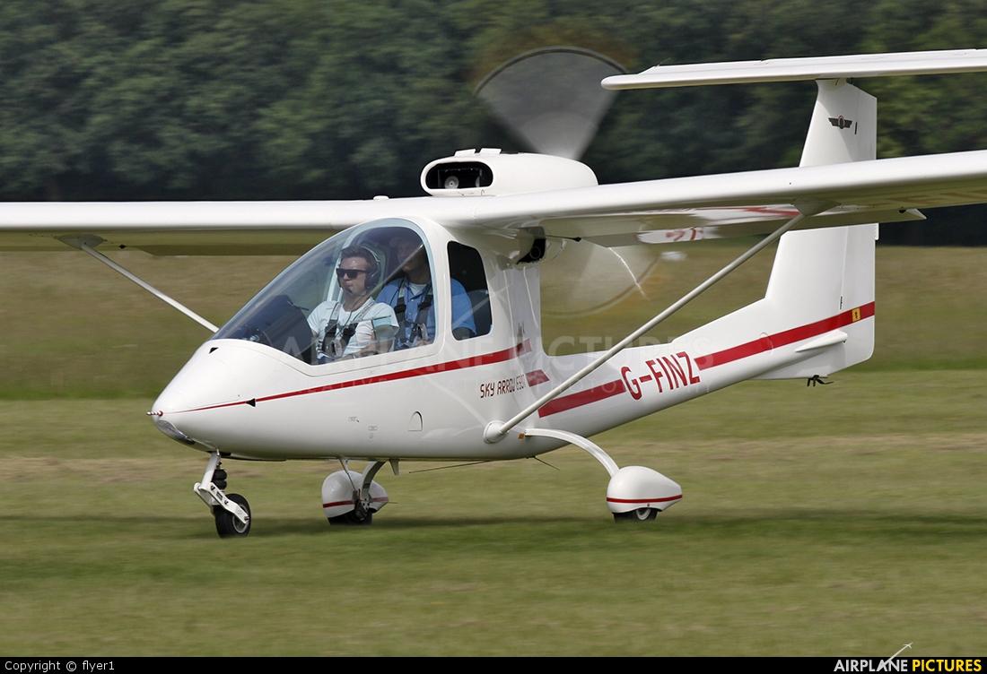 Private G-FINZ aircraft at Lashenden / Headcorn