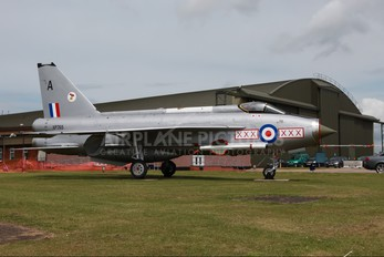 XP765 - Royal Air Force English Electric Lightning F.6