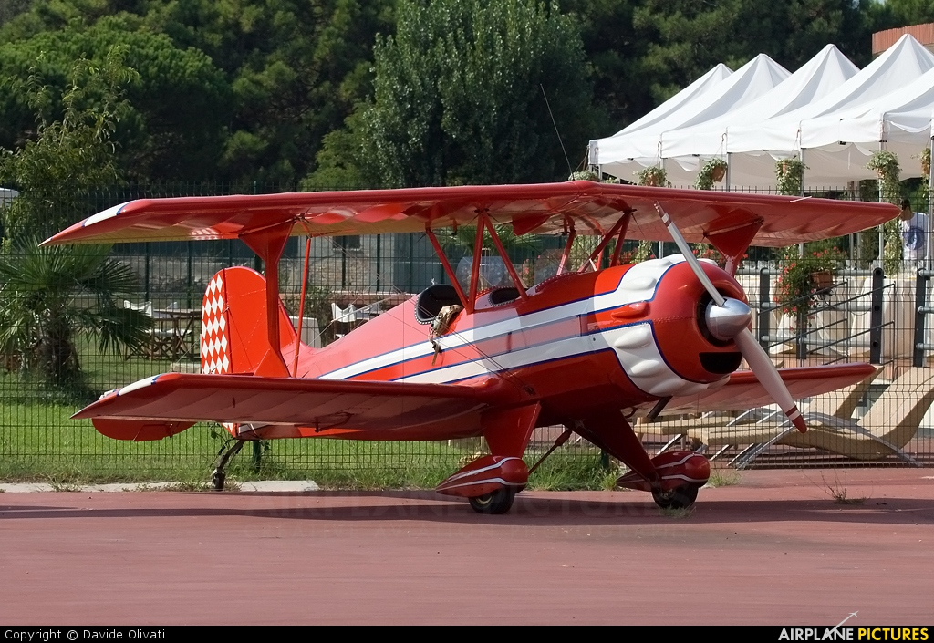 Private I-6051 aircraft at Venice - Marco Polo