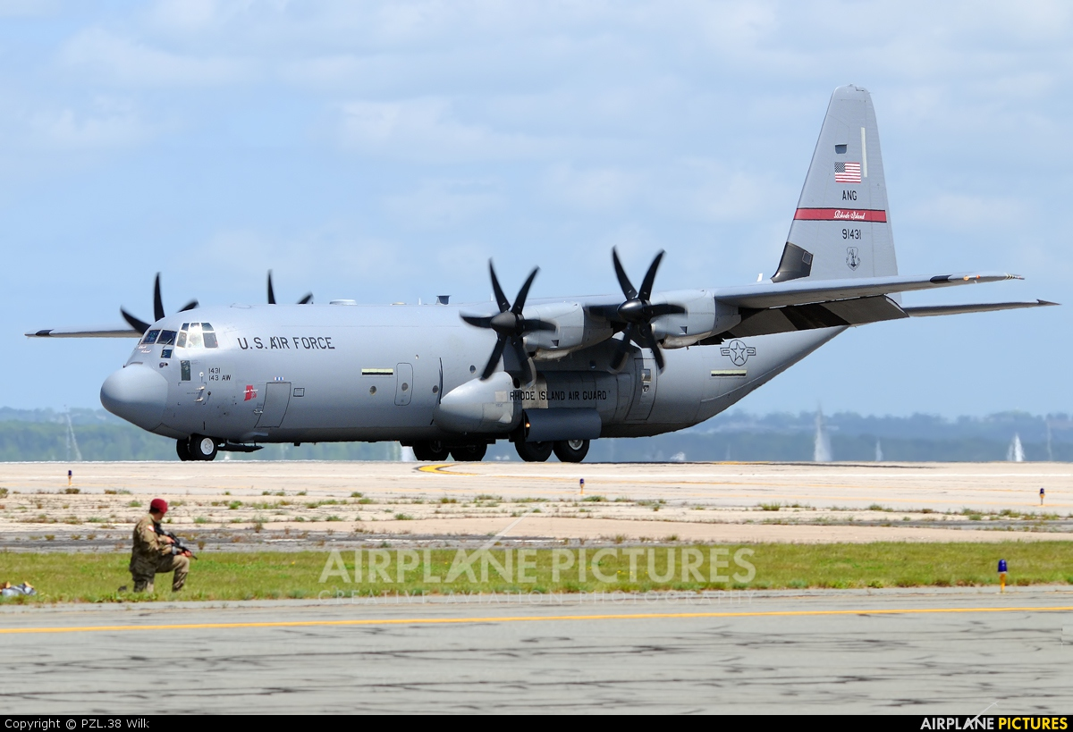 USA - Air Force 99-1431 aircraft at Quonset Point NAS