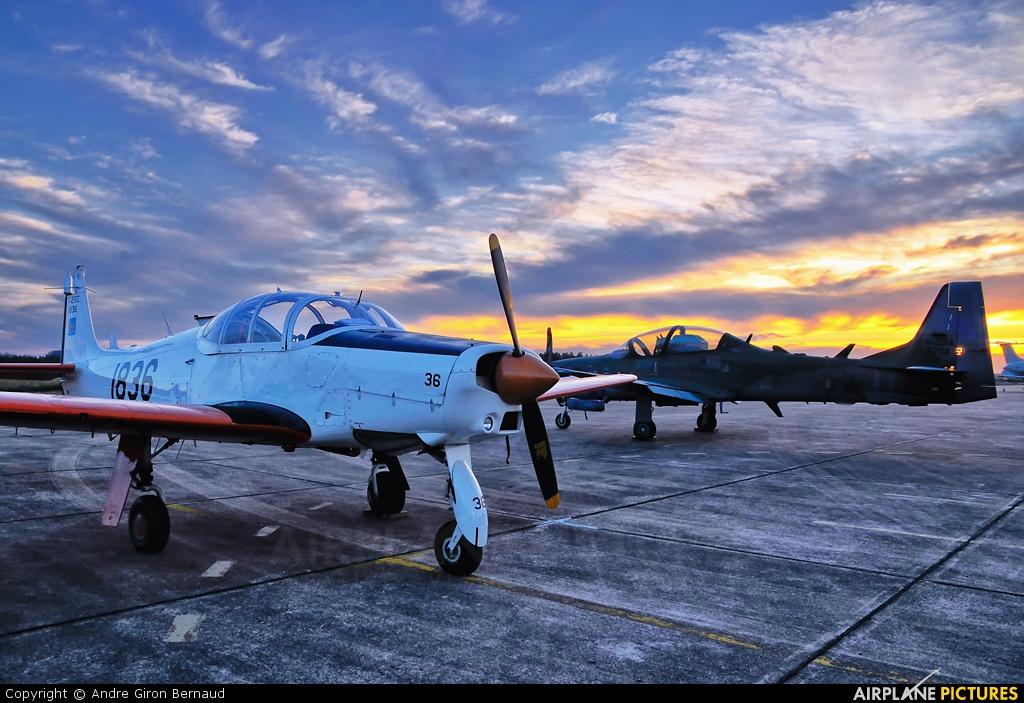 Brazil - Air Force 1836 aircraft at Santa Maria