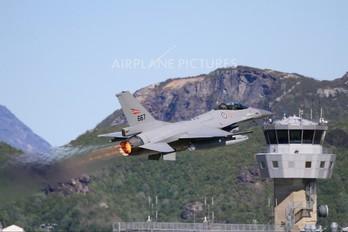 667 - Norway - Royal Norwegian Air Force Lockheed Martin F-16AM Fighting Falcon