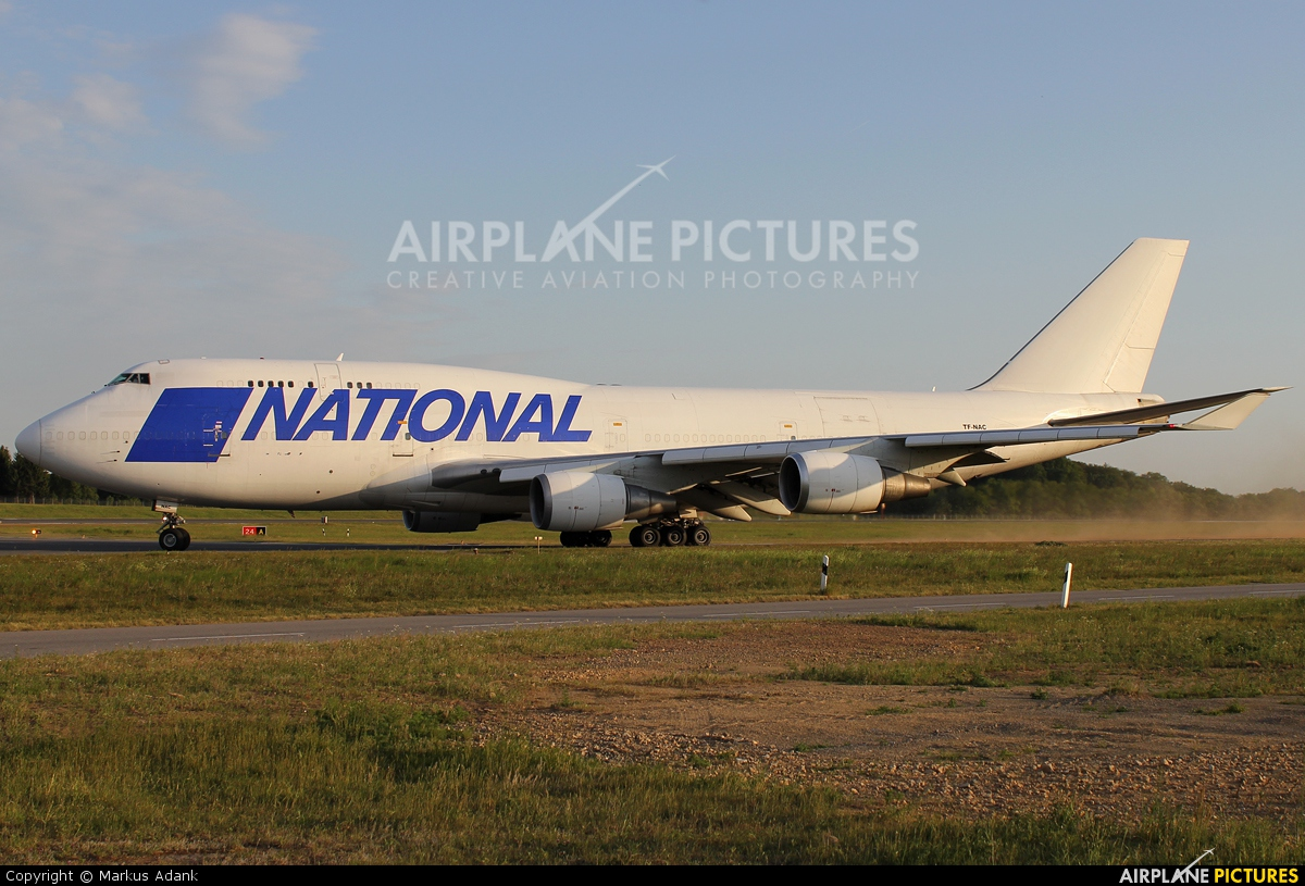 TF-NAC - National Airlines Boeing 747-400BCF, SF, BDSF at ...