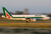 EI-EID - Alitalia Airbus A320 aircraft