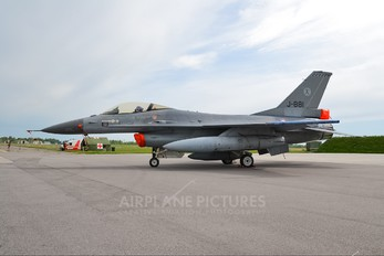 J-881 - Netherlands - Air Force General Dynamics F-16A Fighting Falcon