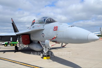 165668 - USA - Navy McDonnell Douglas F/A-18F Super Hornet