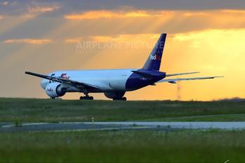 N856FD - FedEx Federal Express Boeing 777F