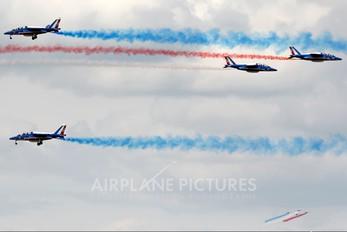 """E158 - France - Air Force """"Patrouille de France"""" Dassault - Dornier Alpha Jet E"""