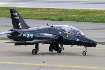XX204 - Royal Air Force British Aerospace Hawk T.1/ 1A