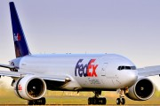 N853FD - FedEx Federal Express Boeing 777F aircraft
