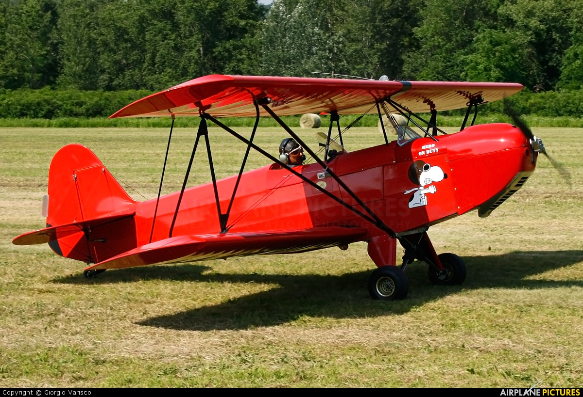 Private I-2954 aircraft at Nervesa della Battaglia