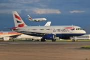 G-EUPY - British Airways Airbus A319 aircraft