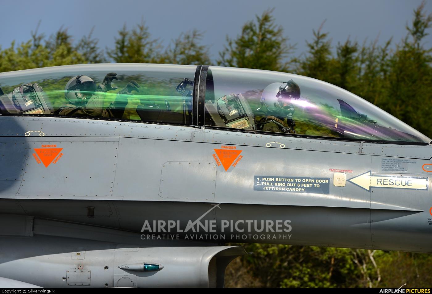 Belgium - Air Force FB-15 aircraft at Orland