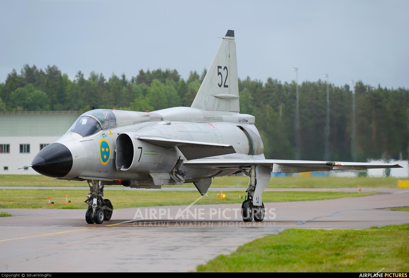 SE DXN Swedish Air Force Historic Flight SAAB AJS 37 Viggen at Malmen Photo ID 221086
