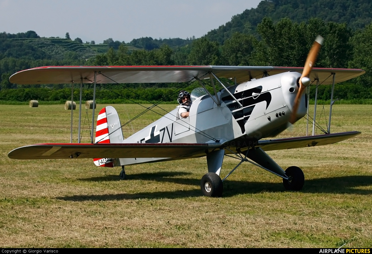Private I-A134 aircraft at Nervesa della Battaglia