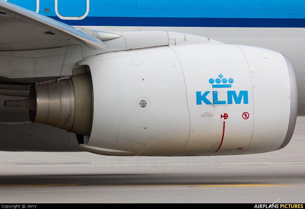 KLM PH-BXW aircraft at Warsaw - Frederic Chopin