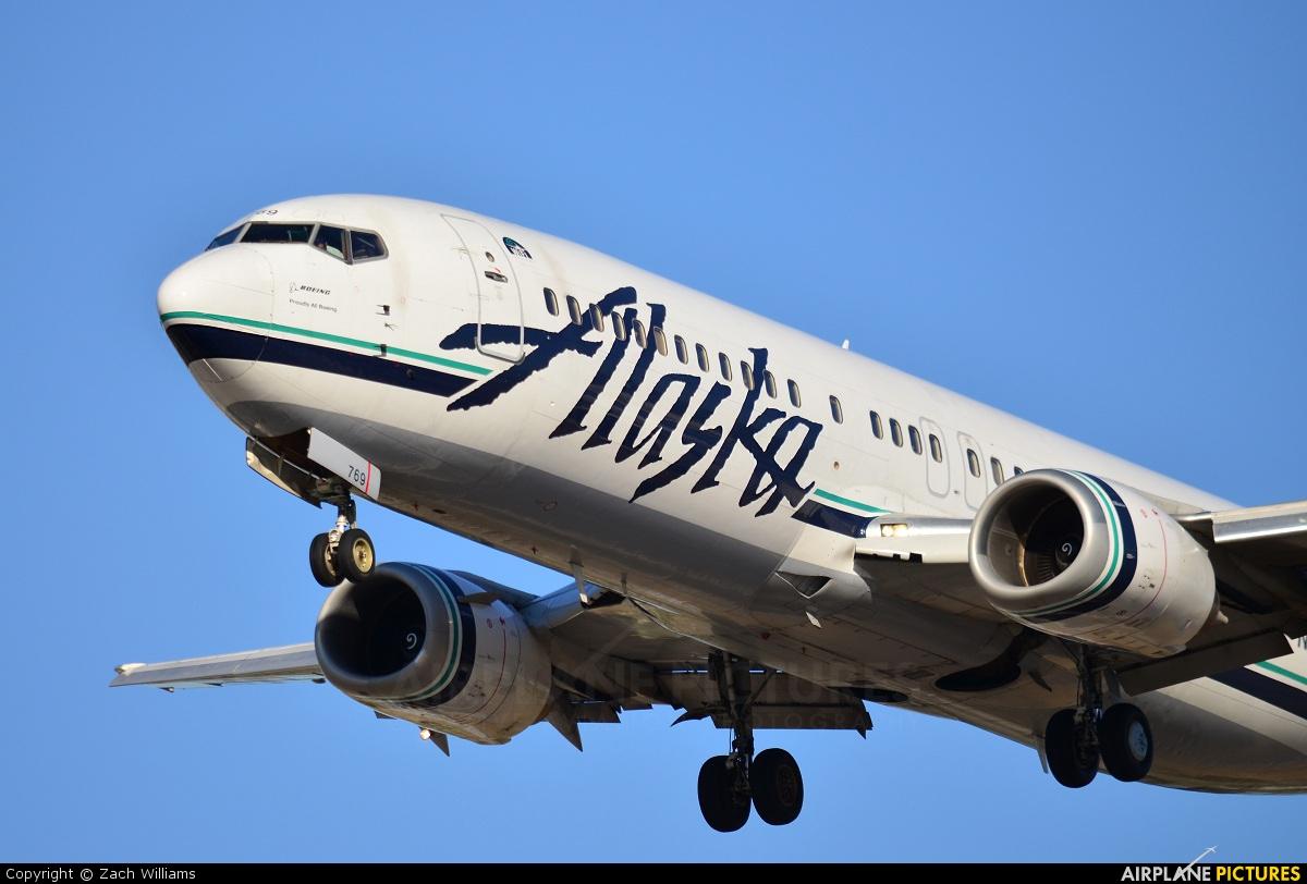Alaska Airlines N769AS aircraft at San Jose - Norman Y. Mineta