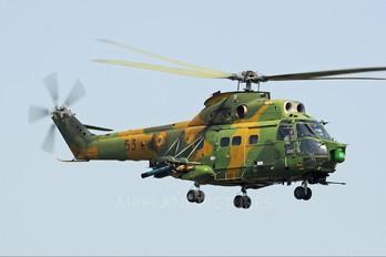 53 - Romania - Air Force IAR Industria Aeronautică Română IAR 330 Puma