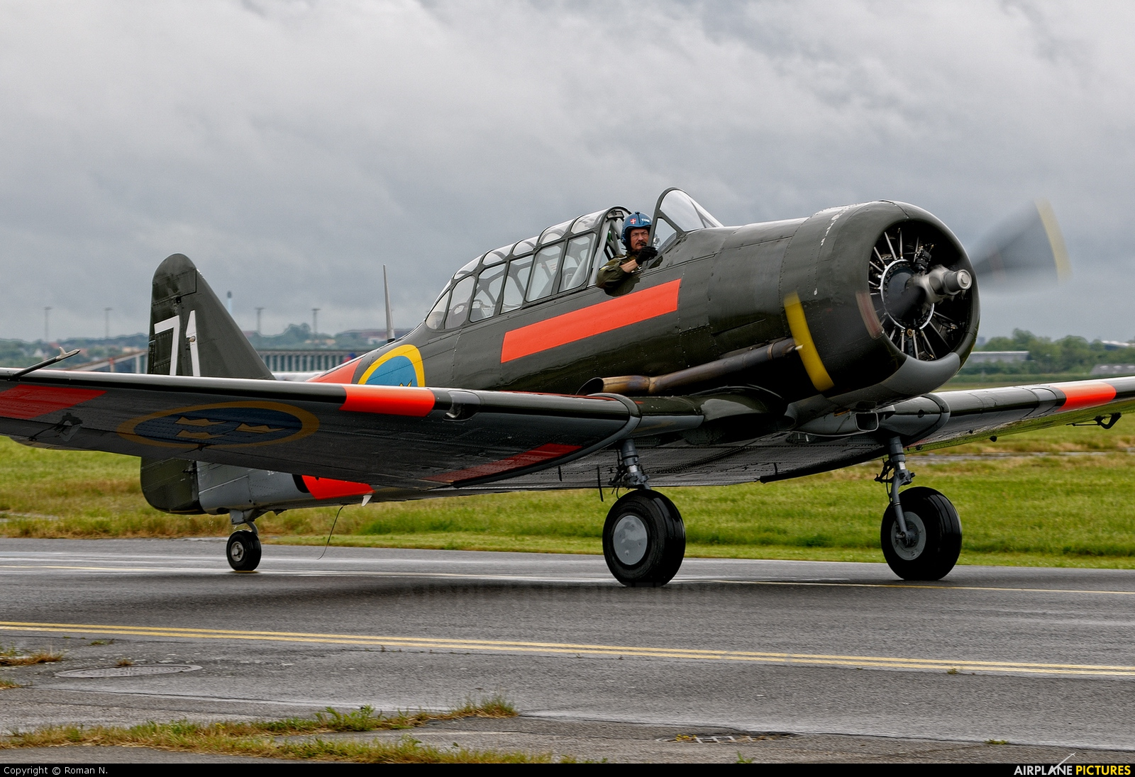 Swedish Air Force Historic Flight SE-FUD aircraft at Aalborg