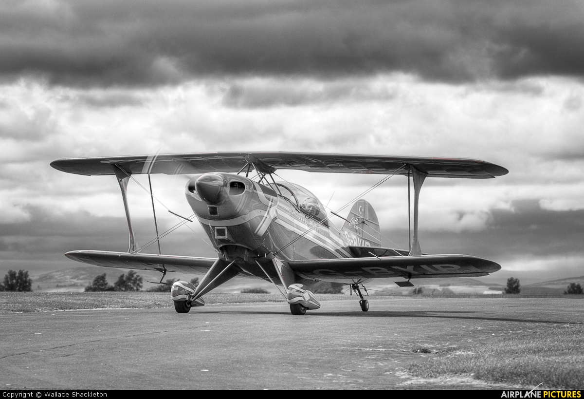 Private G-BYIP aircraft at Perth - Scone