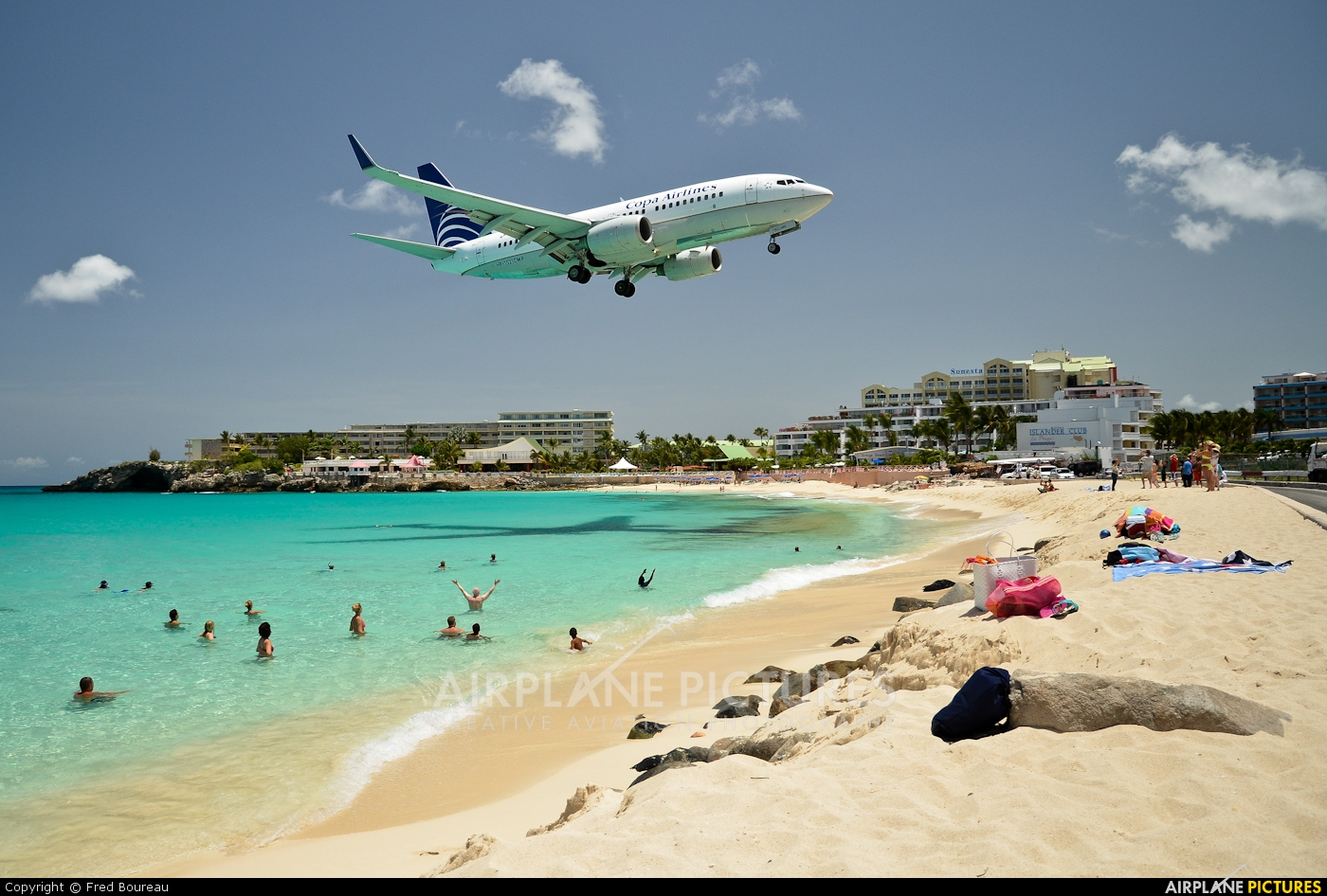 Copa Airlines HP-1521CMP aircraft at Sint Maarten - Princess Juliana Intl