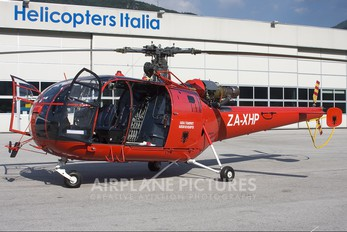 ZA-ZHP - Private Sud Aviation SA-319 Alouette III