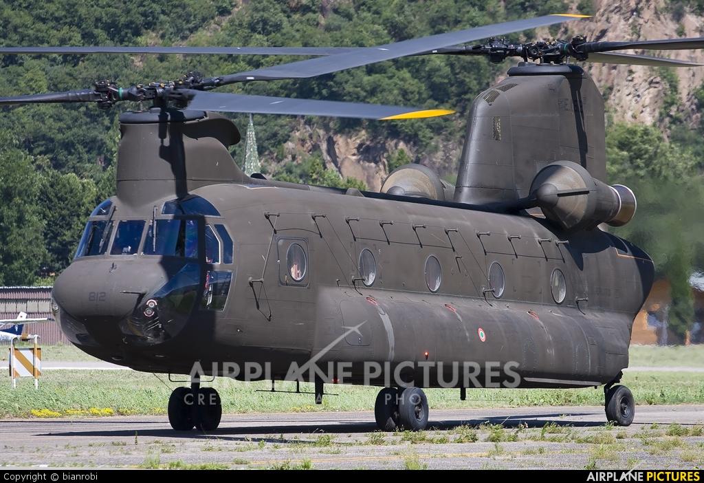 Italy - Army MM80834 aircraft at Bolzano