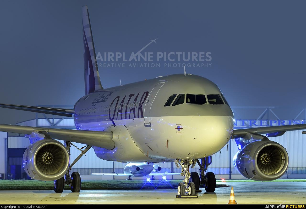 Qatar Amiri Flight A7-MED aircraft at Paris - Le Bourget