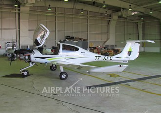 TF-KFC - Keilir Aviation Academy Diamond DA 40 Diamond Star