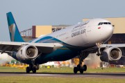 A4O-DB - Oman Air Airbus A330-300 aircraft