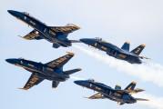 163705 - USA - Navy : Blue Angels McDonnell Douglas F/A-18A Hornet aircraft