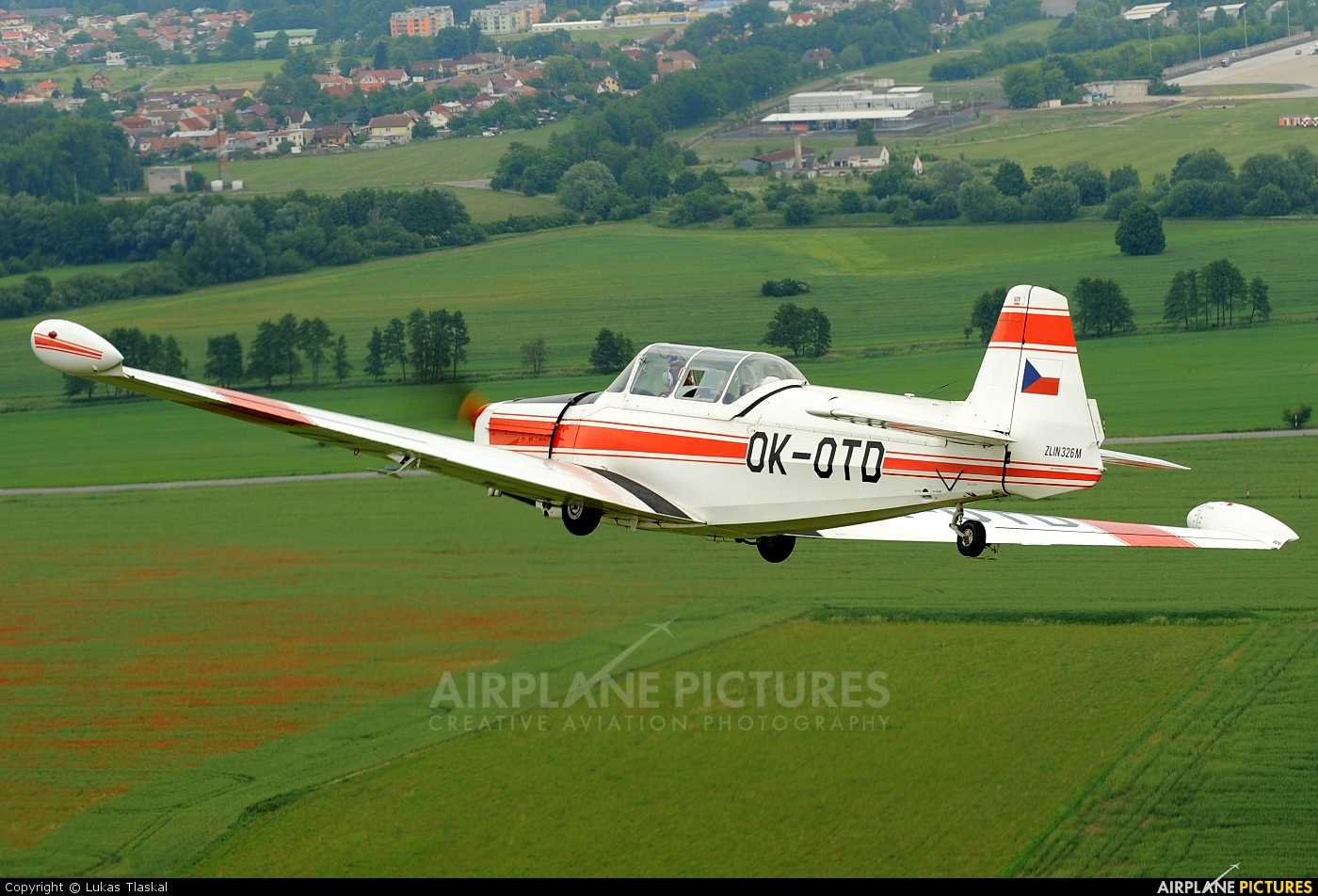 Private OK-OTD aircraft at Pardubice