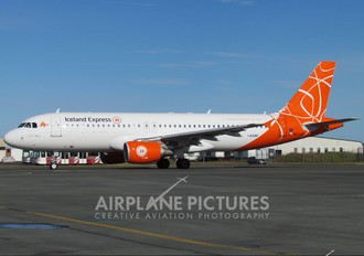 OK-LEF - Iceland Express Airbus A320