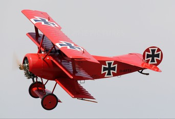 D-EFTJ - Private Fokker DR.1 Triplane (replica)