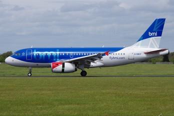 G-DBCF - BMI British Midland Airbus A319
