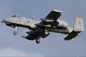 80-0275 - USA - Air Force Fairchild A-10 Thunderbolt II (all models)