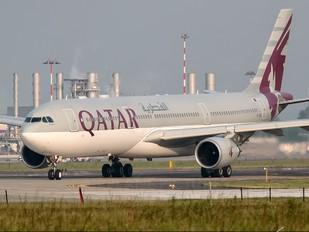 A7-AEO - Qatar Airways Airbus A330-300