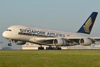 9V-SKM - Singapore Airlines Airbus A380