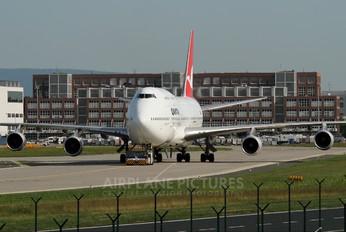 VH-OJJ - QANTAS Boeing 747-400