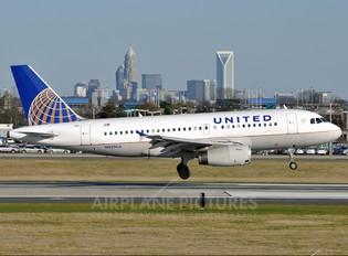 N825UA - United Airlines Airbus A319