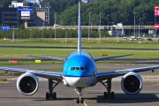 PH-BVG - KLM Boeing 777-300ER aircraft