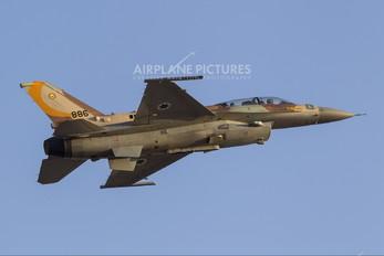 886 - Israel - Defence Force Lockheed Martin F-16I Sufa